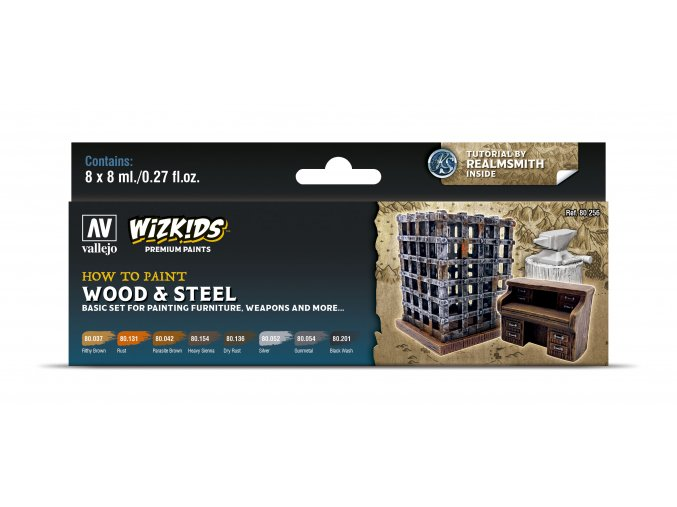 80256 Wizkids Wood Steel