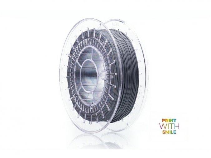 Vlákno pro 3D tisk pružné velmi měkké Print WS šedá barva
