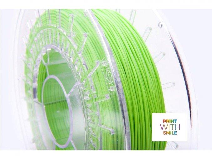 Vlákno pro 3D tisk pružné velmi měkké Print WS zelená barva
