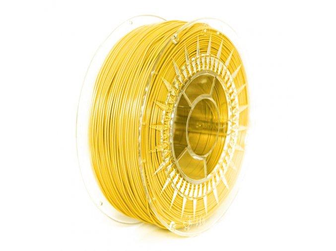 PLA filament 1,75 mm jasný žlutý Devil Design 1 kg