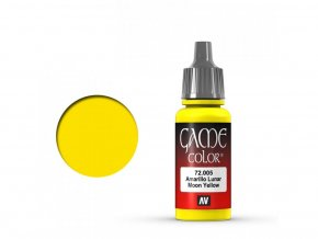 game color vallejo moon yellow 72005