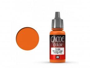 game color vallejo orange fire 72008