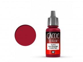 game color vallejo scarlet red 72012 Rev01 1