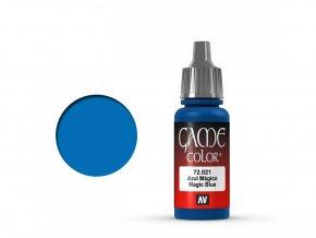 game color vallejo magic blue 72021
