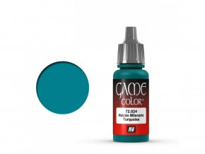 Vallejo Game Color 72024 Turquoise (17 ml)
