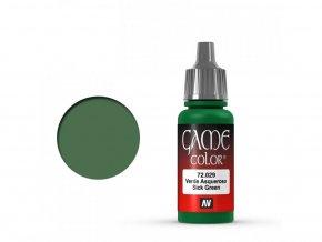Vallejo Game Color 72029 Sick Green (17 ml)