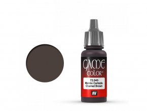 Vallejo Game Color 72045 Charred Brown (17 ml)