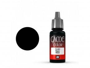 game color vallejo black 72051