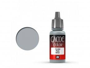 game color vallejo silver 72052