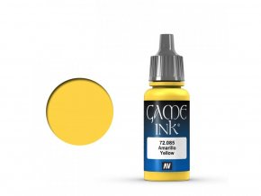 Vallejo Game Color 72085 Yellow Ink (17 ml)