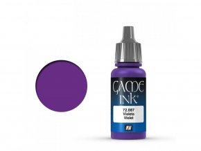 Vallejo Game Color 72087 Violet Ink (17 ml)