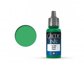 Vallejo Game Color 72089 Green Ink (17 ml)