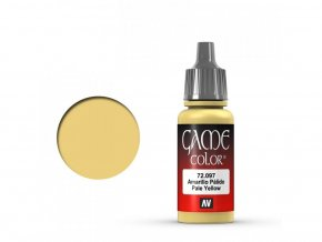 Vallejo Game Color 72097 Pale Yellow (17 ml)