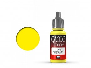 Vallejo Game Color 72103 Fluo Yellow (17 ml)