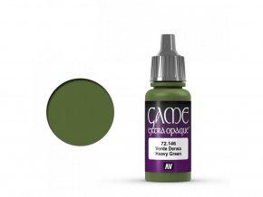 Vallejo Game Color 72146 Heavy Green (17 ml)