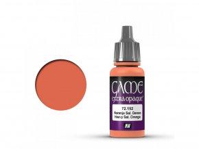 Vallejo Game Color 72152 Heavy Salmon Orange (17 ml)