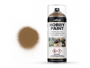Vallejo Hobby Spray Paint 28014 Leather Brown (400ml)