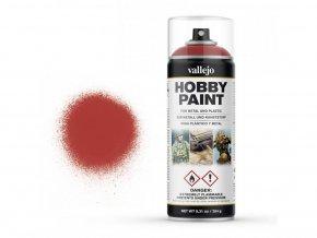 Vallejo Hobby Spray Paint 28016 Scarlet Red (400ml)