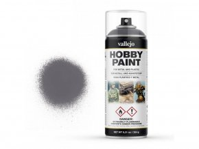 Vallejo Hobby Spray Paint 28031 Gun Metal (400ml)