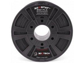 393 ESD PLA 175mm Black 1kg 3D Printer Filament