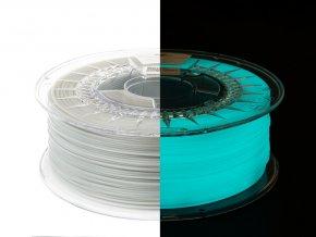 eng pl Filament PET G Glow in the Dark 1 75mm BLUE 1kg 1333 4