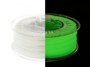 eng pm Filament PET G Glow in the Dark 1 75mm YELLOW GREEN 1kg 1332 4