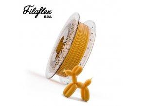 FILAFLEX tisková struna 82A 1,75mm Gold 0,5 kg Recreus