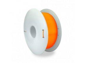 filament fiberlogy easy abs 175mm 075kg orange transparent
