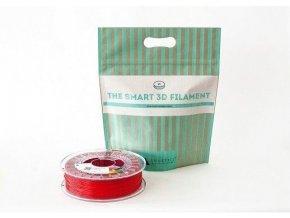 PLA tisková struna rubínově červená 1,75 mm Smartfil 1kg