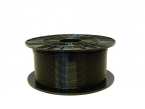 PLA tisková struna černá 1,75 mm 1 kg Filament PM