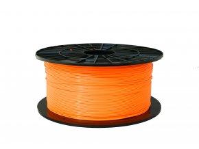 PLA tisková struna oranžová 1,75 mm 1 kg Filament PM