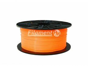 pla orange filament pm