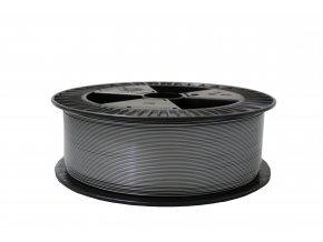 PLA tisková struna stříbrná 1,75 mm 2 kg Filament PM