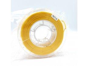 PET-G filament 1,75 mm jasně žlutý Devil Design 330g