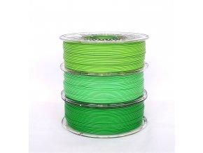 PLA green apple 2