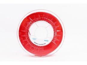 PLA filament z recyklátu 1,75 mm červená EKO-MB 1 kg
