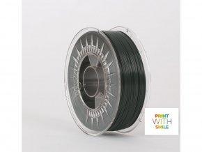 Pla tisková struna české výroby Print With Smile tmavě zelená 1,75mm