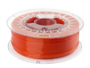 pol pl Filament PETG 1 75mm TRANSPARENT ORANGE 1kg 559 4