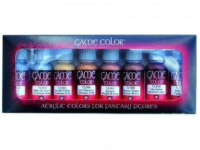 Vallejo Game Color Set 72303 Metallic Colors (8)