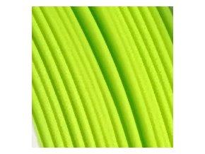Fibersilk světle zelený metalický filament