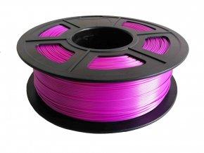Tisková struna pro 3D tisk s odlesky ve fialové barvě FIBER3D 1kg