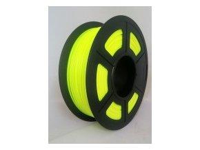 pla glow yellow 2
