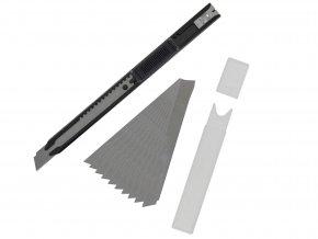 val T06011 tenký odlamovací nožík s náhradními břity