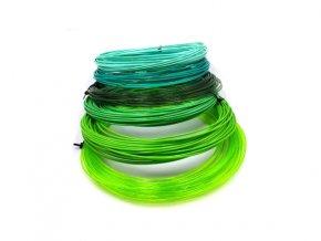 PETG vzorník 6 barev zelené Devil Design