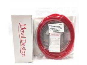 VZOREK 20 METRŮ - PMMA filament červený TR 1,75mm Devil Design