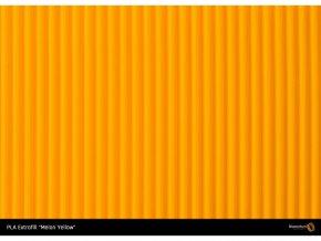 40688 1 pla filament extrafill melon yellow 1 75mm 750g fillamentum