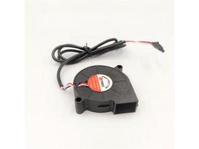 Radiální ventilátor 5V 50mm x 50mm x 15mm pro Průšu