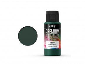 Vallejo PREMIUM Color 62014 Dark Green 60ml