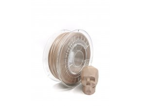 PLA filament z recyklátu 1,75 mm satin béžová EKO-MB 1 kg