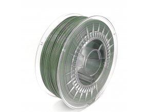 PET-G filament z recyklátu 1,75 mm army vojenská zelená EKO-MB 1 kg
